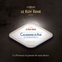 packaging boîte calisson Roy René